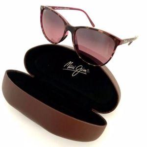 Maui Jim Ocean Sunglasses Polarized Cat Eye Brown